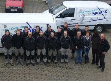 65-Jahre Kälte-Klimatechnik Spörck in Marburg
