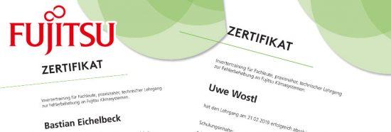 Splitklimaanlagen Fujitsu Zertifiziert - Kälte-/Klimatechnik Spörck Marburg