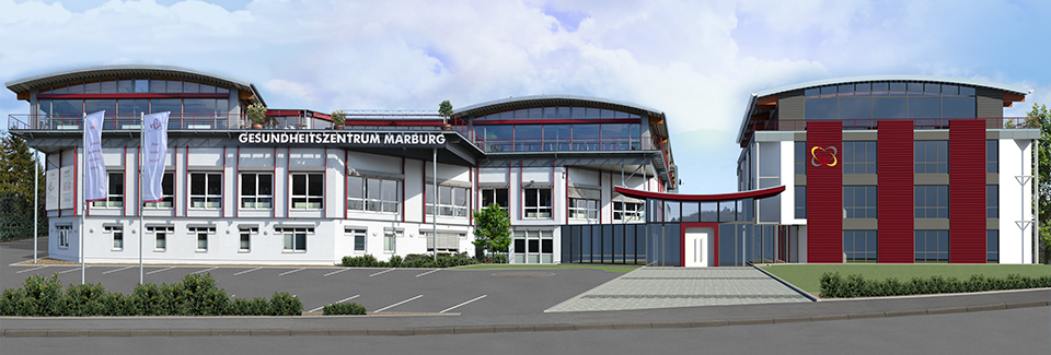 Klimatisierung des Gesundheitszentrums Marburg durch Spörck