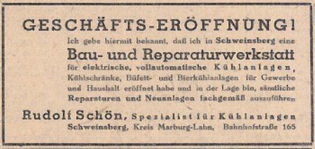 Zeitungsartikel Eröffnung