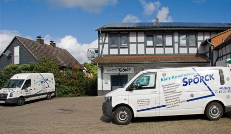 Unser neues Firmengebäude in Cölbe bei Marburg